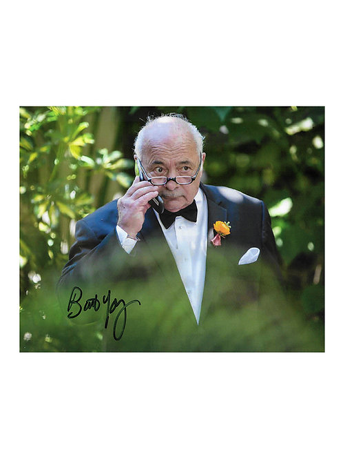 10x8 Rocky Print Signed by Burt Young