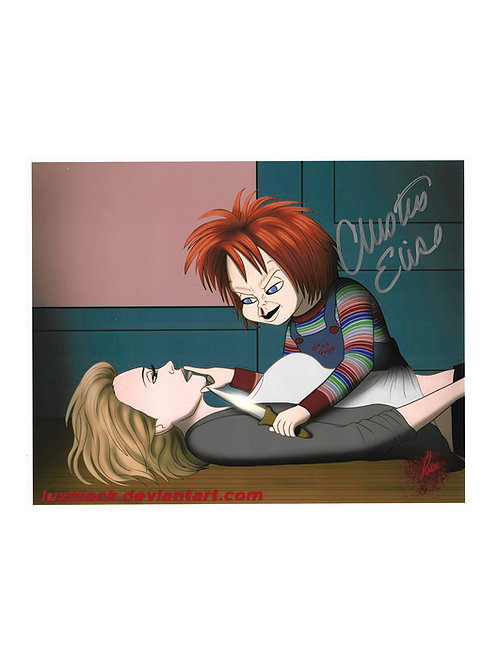 10x8 Child's Play Print Signed by Christine Elise