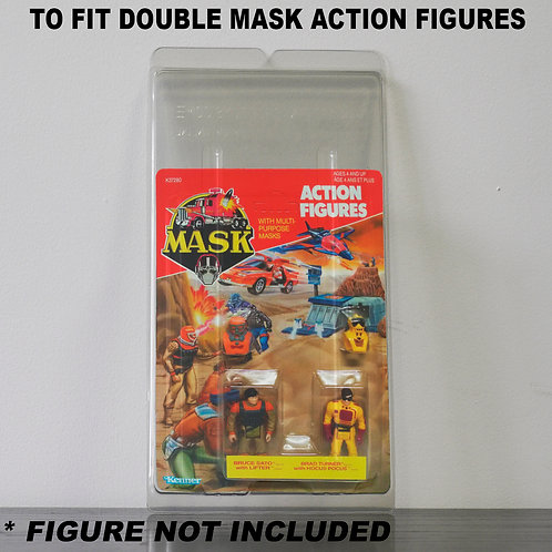 Protective Cases For MOC MASK Figures - Various Pack Sizes