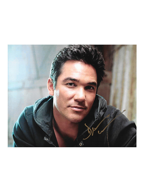 10x8 Print Signed by Dean Cain