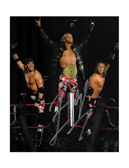 8x10 Print Signed by Wrestling Superstar Edge
