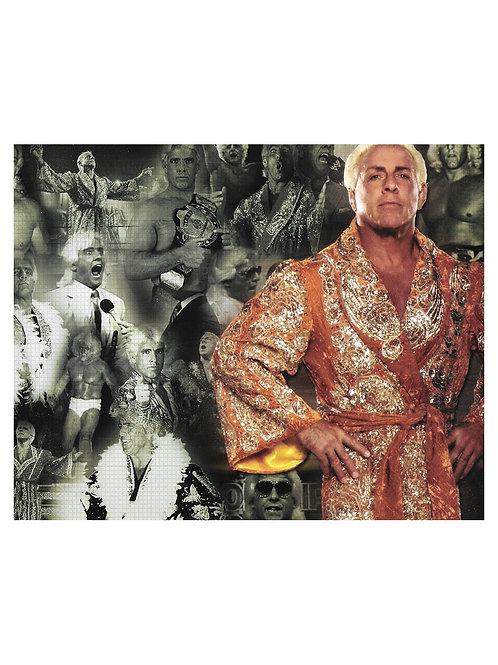 "10x8"" Unsigned WWE WWF Superstar Ric Flair Print"