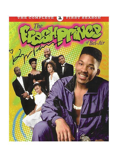 8x10 Fresh Prince of Bel-Air Print Signed by Karyn Parsons