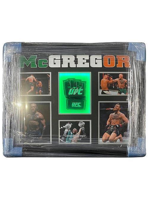 Framed LED Lit UFC Glove Signed By Conor McGregor
