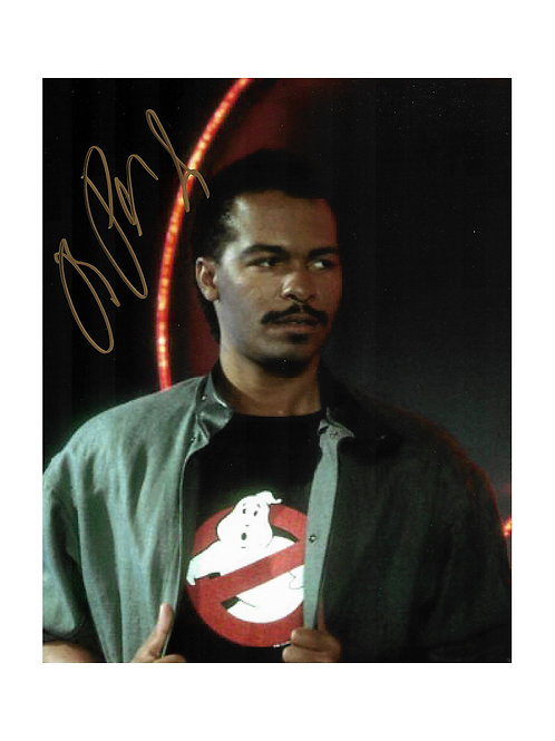 8x10 Ghostbusters Print Signed by Ray Parker Jr.