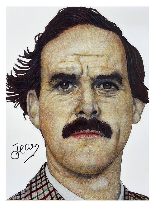 12x16 Fawlty Towers Print Signed by John Cleese