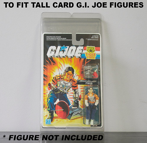 Protective Cases For MOC GI Joe Taller Carded Figures - Various Pack Sizes