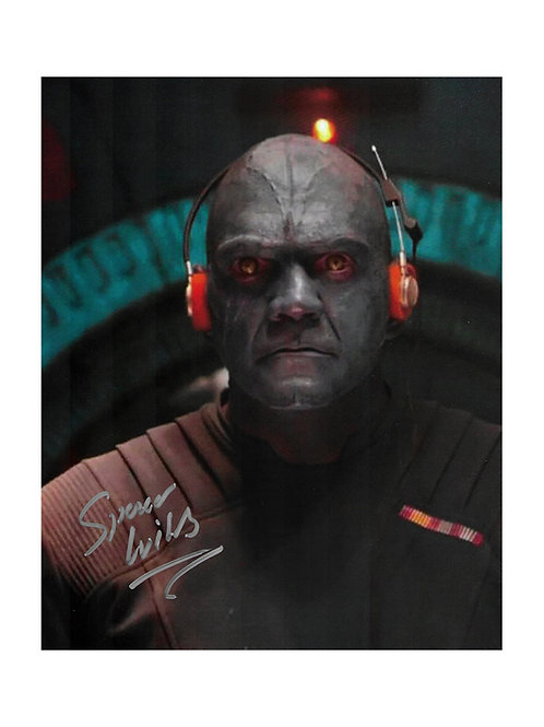 8x10 Guardians of the Galaxy Print Signed by Spencer Wilding