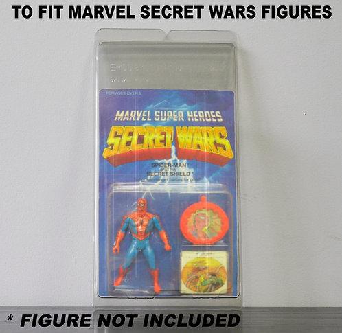 Protective Cases For MOC Marvel Secret Wars Figures - Various Pack Sizes