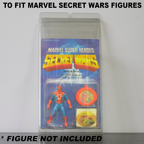 Protective Cases For MOC Marvel Secret Wars Figures - Various Pack Sizes