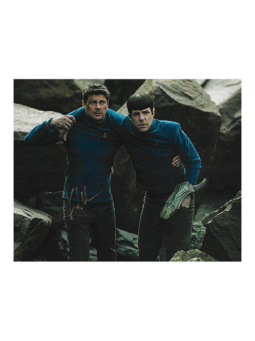 10x8 Star Trek: Beyond Print Signed by Karl Urban