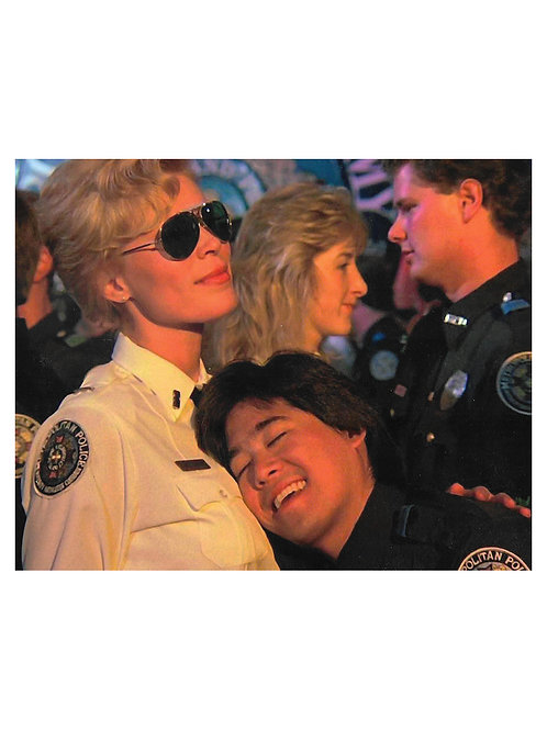 """10x8"""" Unsigned Police Academy Leslie Easterbrook Print"""