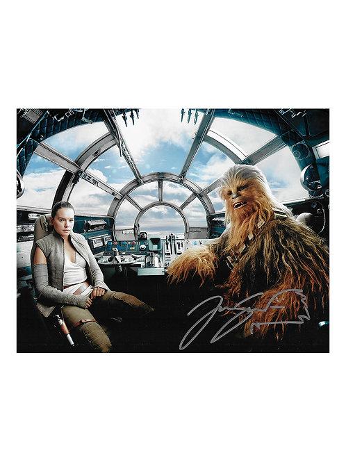 10x8 Star Wars Print Signed by Joonas Suotamo