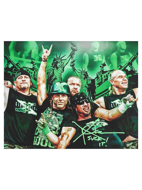 10x8 Print Signed by Wrestling Superstar X-Pac