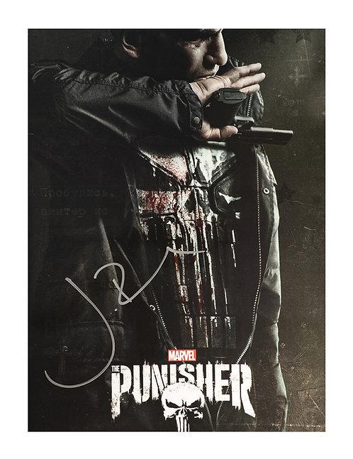 Punisher 12x16 Print Signed by Jon Bernthal