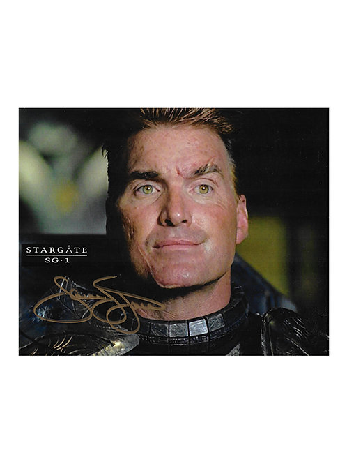 10x8 Stargate Print Signed by Sam J Jones