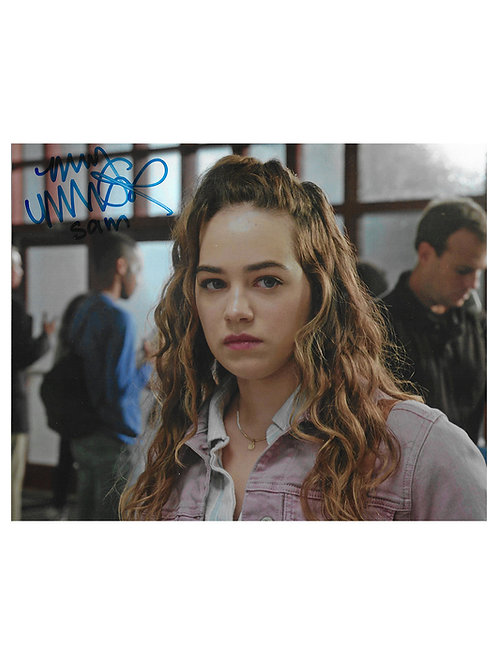 10x8 Cobra Kai Print Signed by Mary Mouser