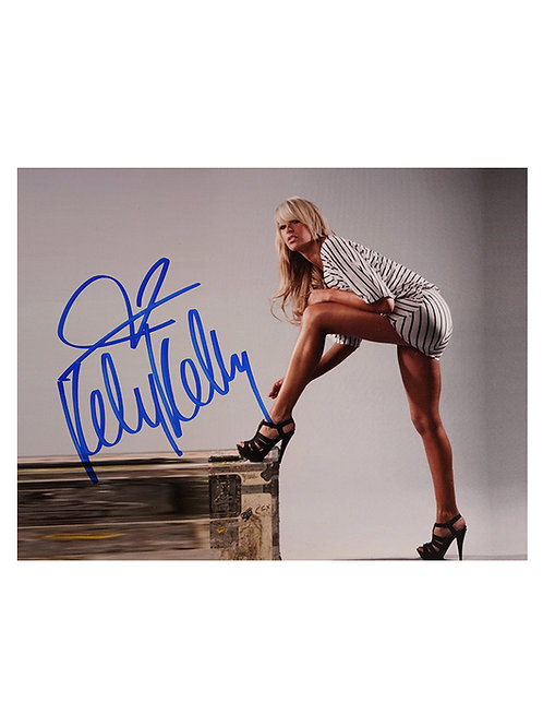10x8 Print Signed by Wrestling Superstar Kelly Kelly
