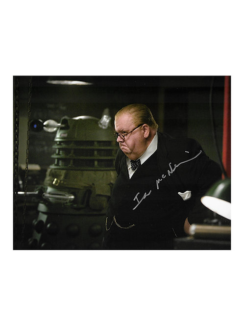 10x8 Doctor Who Print Signed by Ian McNeice