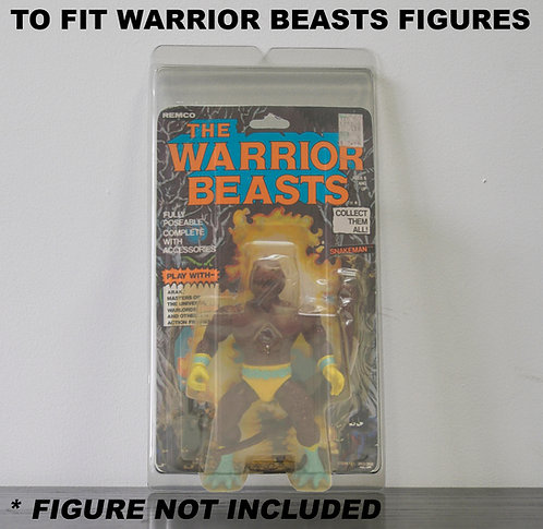 Protective Cases For MOC Warrior Beasts Figures - Various Pack Sizes