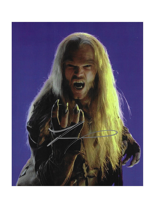 8x10 X-Men Sabretooth Print Signed by Tyler Mane