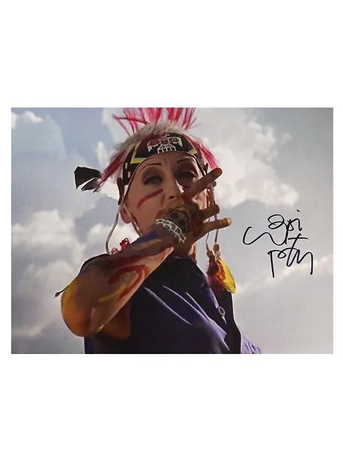 16x12 Tank Girl Print Signed By Lori Petty