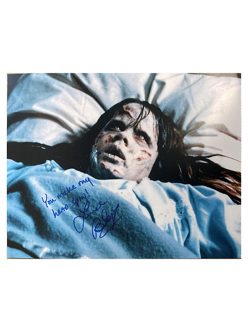 14x11 The Exorcist Print Signed by Linda Blair