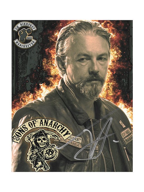 8x10 Sons Of Anarchy Print Signed by Tommy Flanagan