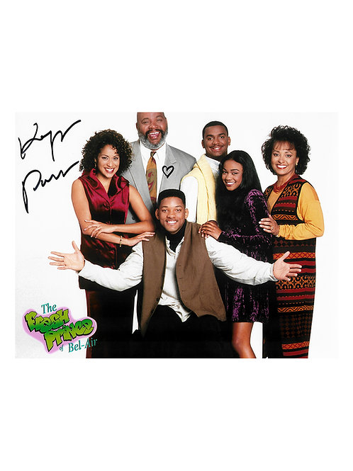 10x8 Fresh Prince of Bel-Air Print Signed by Karyn Parsons