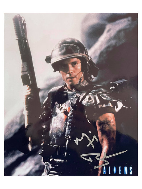 8x10 Aliens Print Signed by Michael Biehn