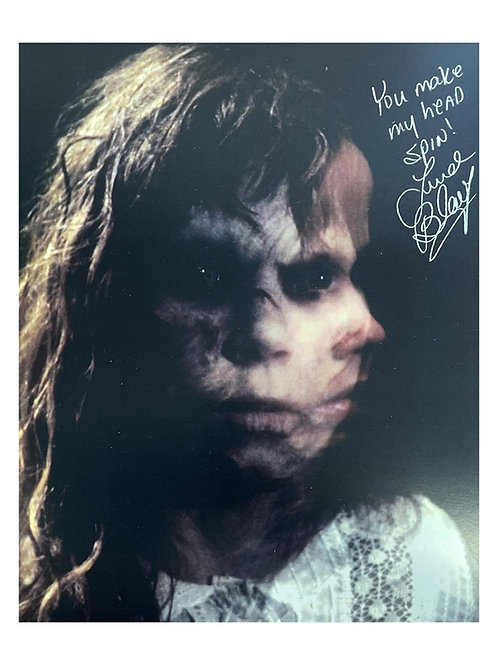 11x14 The Exorcist Print Signed by Linda Blair