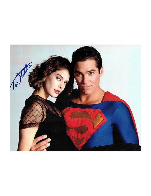 10x8 Lois & Clark Superman Print Signed by Teri Hatcher