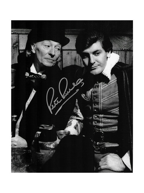 8x10 Doctor Who Print Signed by Peter Purves