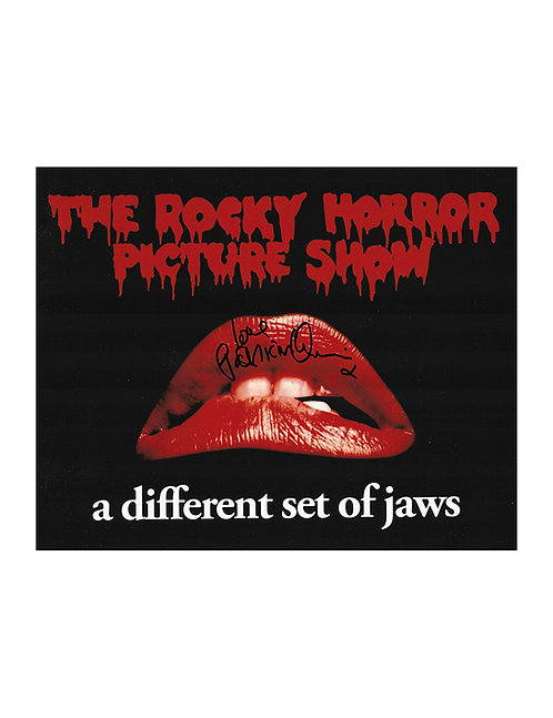 10x8 Rocky Horror Picture Show Print Signed by Patricia Quinn