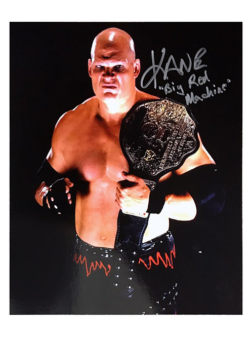 8x10 WWE WWF Print Signed by Wrestling Superstar Kane
