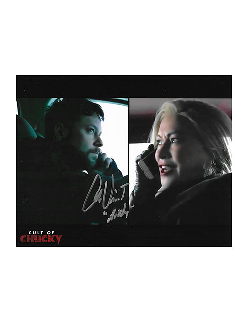 10x8 Cult Of Chucky Print Signed by Alex Vincent