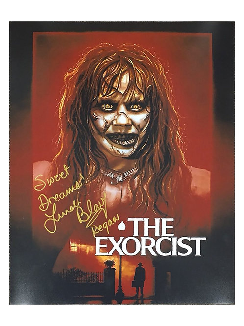 16x20 The Exorcist Print Signed by Linda Blair
