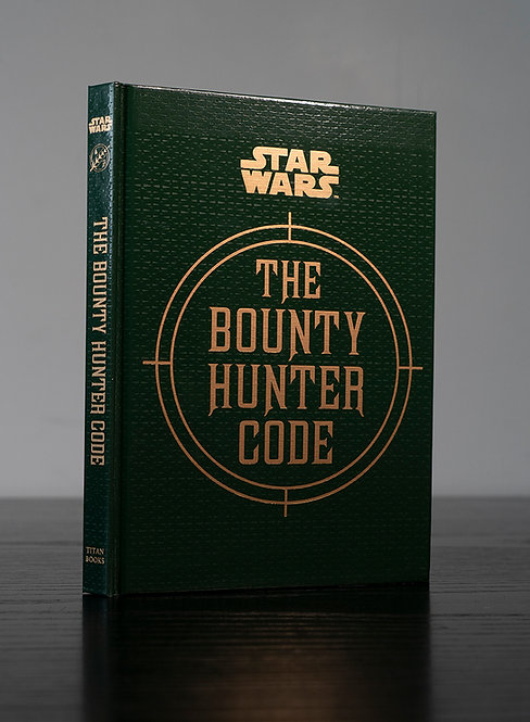 The Bounty Hunter Code Hardback Book Signed ByJeremy Bulloch