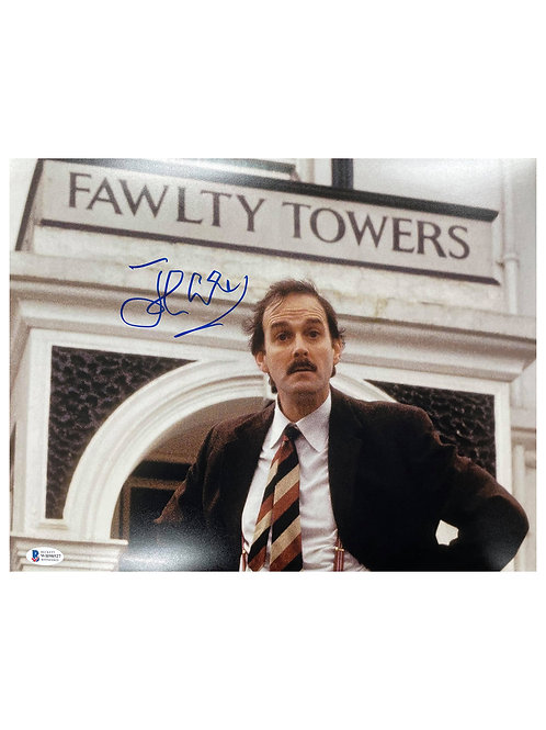 14x11 Fawlty Towers Print Signed by John Cleese