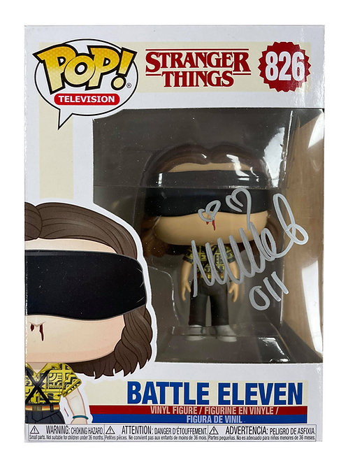 Stranger Things #826 Battle Eleven Funko Pop Signed by Millie Bobby Brown