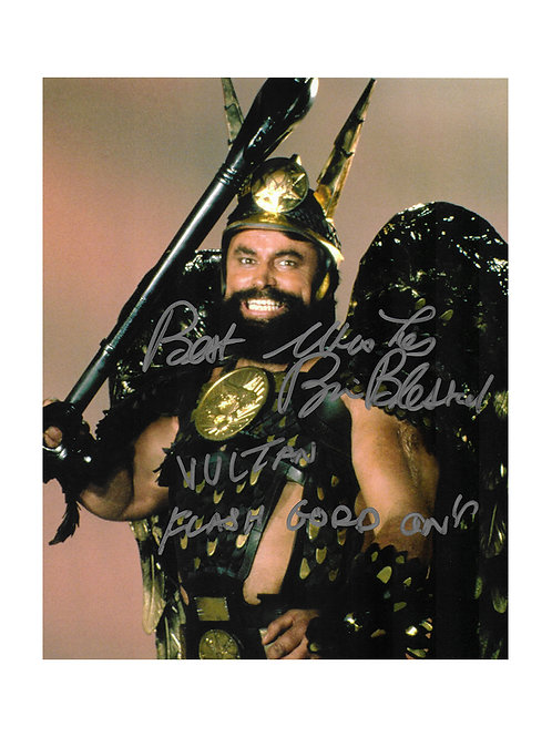 8x10 Flash Gordon Print Signed by Brian Blessed