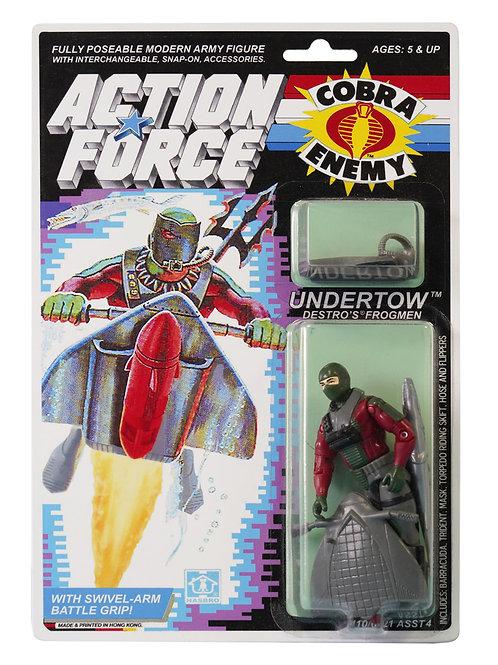Action Force GI Joe Undertow Destro's Frogmen MOC Carded Custom