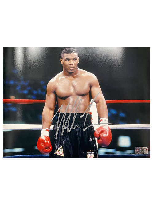 14x11 Print Signed By Mike Tyson
