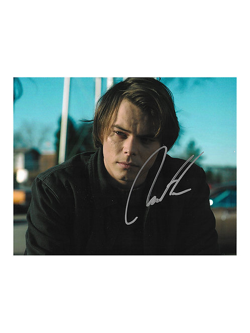 10x8 Stranger Things Print Signed by Charlie Heaton