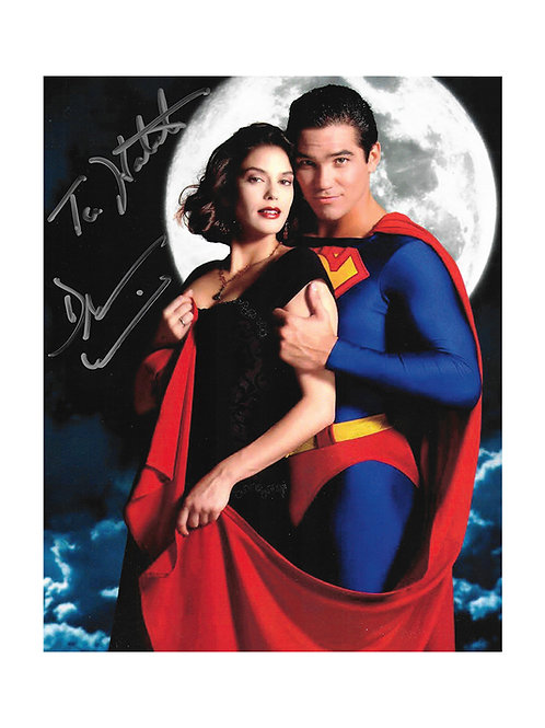 8x10 Superman Print Signed by Teri Hatcher & Dean Cain