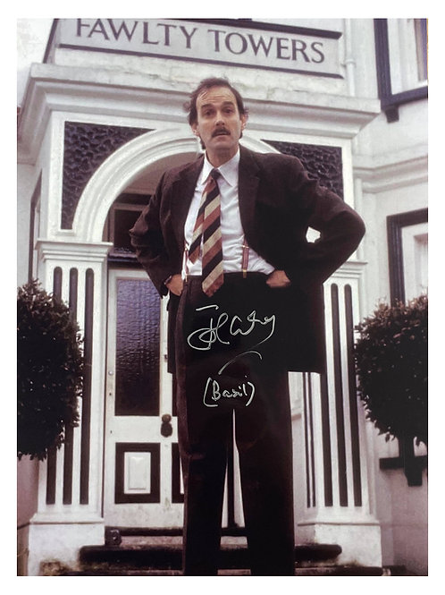 12x16 Fawlty Towers Print With Name Print Signed by John Cleese