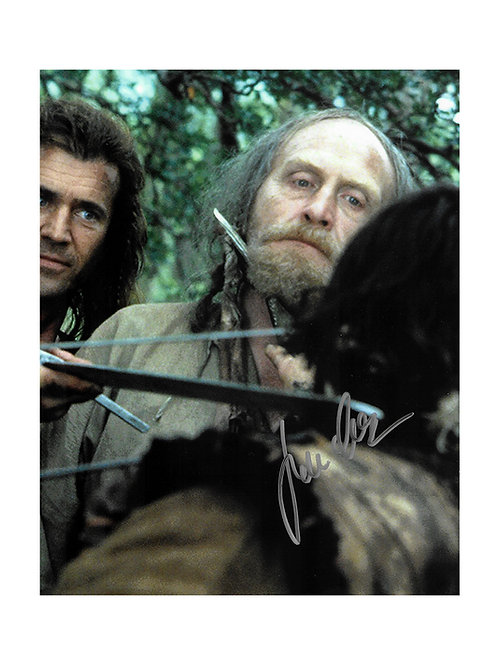 8x10 Braveheart Print Signed by James Cosmo