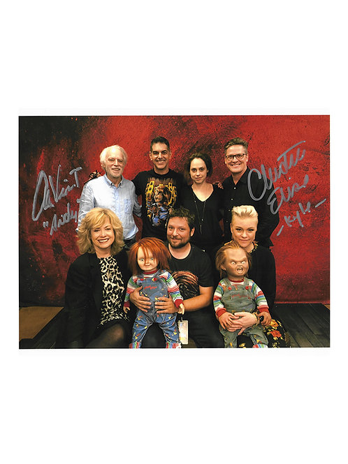10x8 Child's Play Print Signed by Alex Vincent & Christine Elise