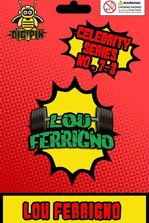Celebrity Series Lou Ferrigno #7-3 - Logo