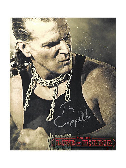 8x10 Print Signed by Tim Cappello